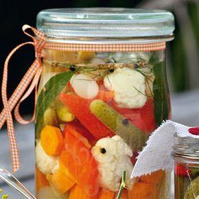Mixed Pickles Rezept | Küchengötter