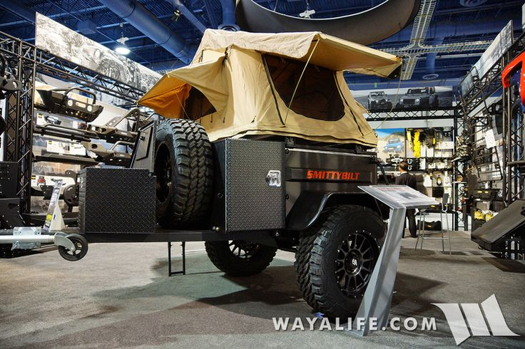 4Runner Trd Pro >> 2015 SEMA Smittybilt Recon Overlander Trailer | JEEP! | Pinterest | More Jeeps ideas