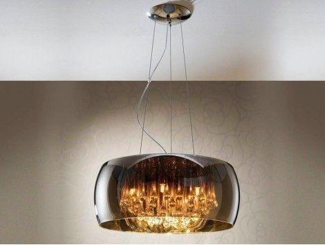 M s de 1000 ideas sobre l mparas modernas de cristal en - Ver lamparas de techo modernas ...