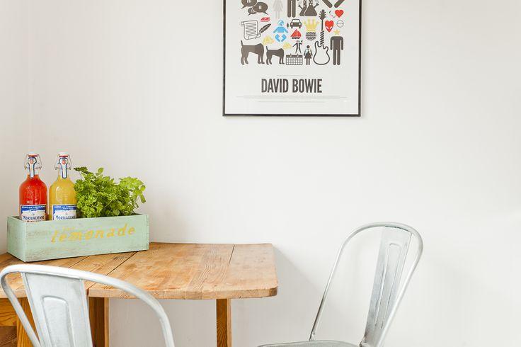 Snygga stolar, snyggt bord och snygg tavla :)