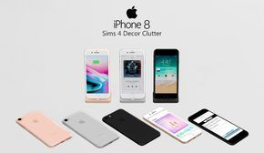 Sims 4 Apple iPhone 8 | dreamteamsims