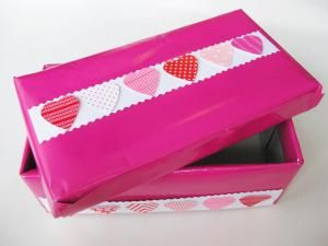 10 Easy To Make Valentineu0027s Day Boxes: How To Make A Shoe Box