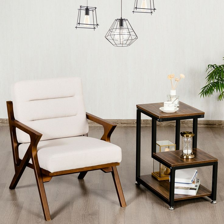 3 Tier Living Room Side Table With Storage Shelf Side Table With Storage Side Table With Drawer Sofa Side Table