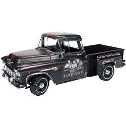 """1955 Chevy Stepside Truck Three Stooges Die Cast: So your truck's making a funny noise... does it sound like """"N'yuk, n'yuk, n'yuk?"""" 1:18…"""
