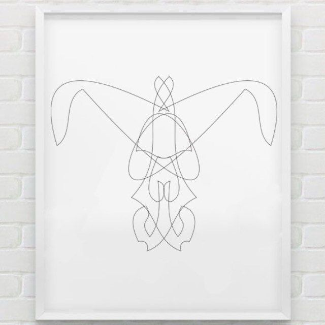 Get the latest Geometric Face print!  This artwork is inspired by creatures of the night, those that haunt and mystify you! Is it a face? Whose? Can you make out a shape? Is that teeth?!