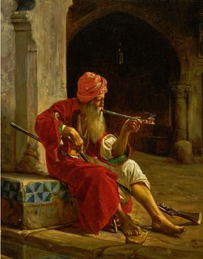 10 Orientalist Paintings by Artists from the 19th Century, with footnotes, #13 http://myartblogcollection.blogspot.ca/2017/03/10-orientalist-paintings-by-artists_25.html