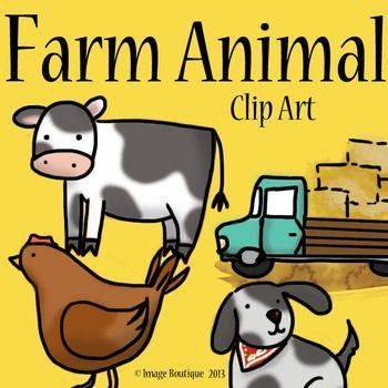 Free farm animal clipart for teachers - photo#22