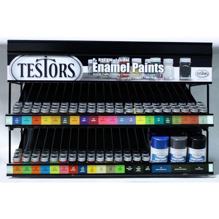 Testors Enamel Model Hobby Craft Paints - 36 NEW Colors! - 1/4 ounce bottles #Testors