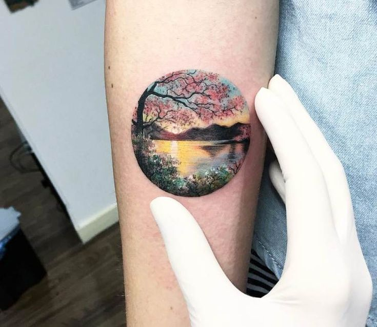 Best 25+ Sunset Tattoos Ideas On Pinterest