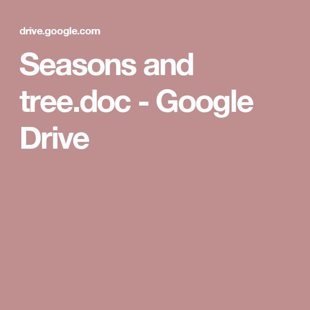 Seasons and tree.doc - Google Drive