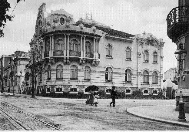 Avenida Fontes Pereira de Melo - 1914