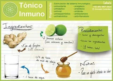 Tónico Inmuno... de Donnato de la O