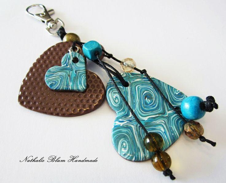 colgante para bolsos von Nathalie Blum Handmade auf DaWanda.com