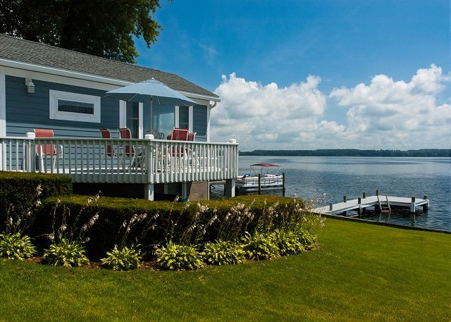 Seneca Lake Vacation Rentals: A Cottage on the Bay | Finger Lakes Rentals | Lakeside Seneca Lake Rentals