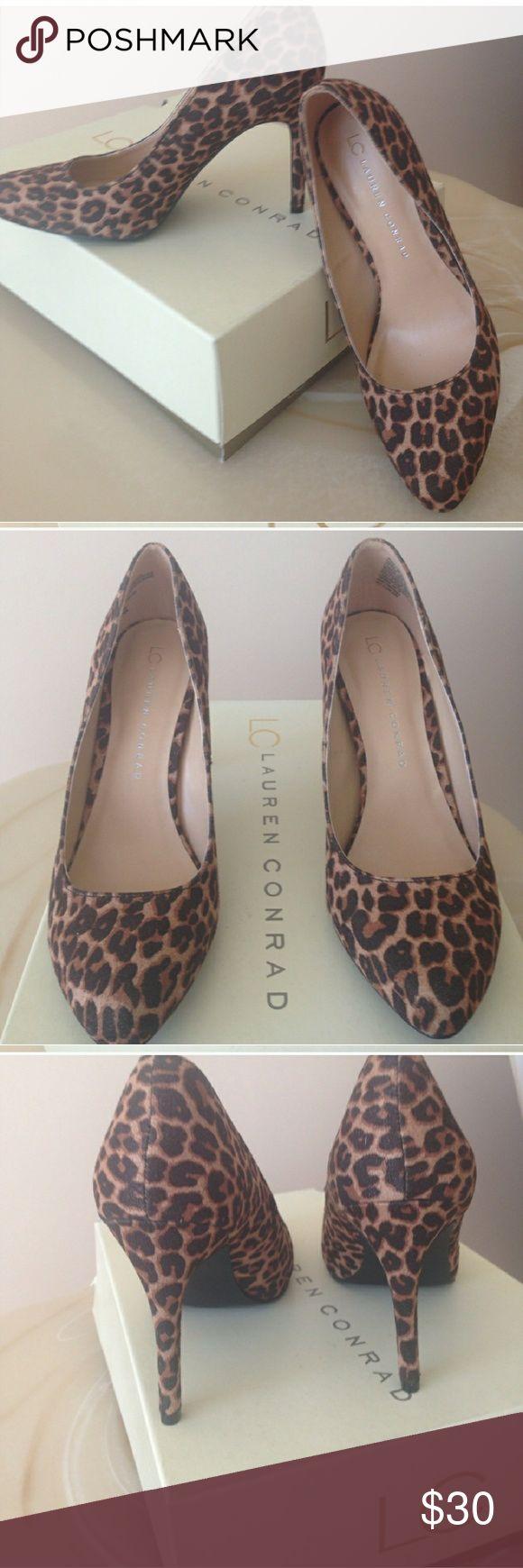 LC Lauren Conrad cheetah heels Brand new heels Women's size 8 LC Lauren Conrad brand Cheetah print design  Most offers will be considered   Save 15% on all 2+ bundles LC Lauren Conrad Shoes Heels