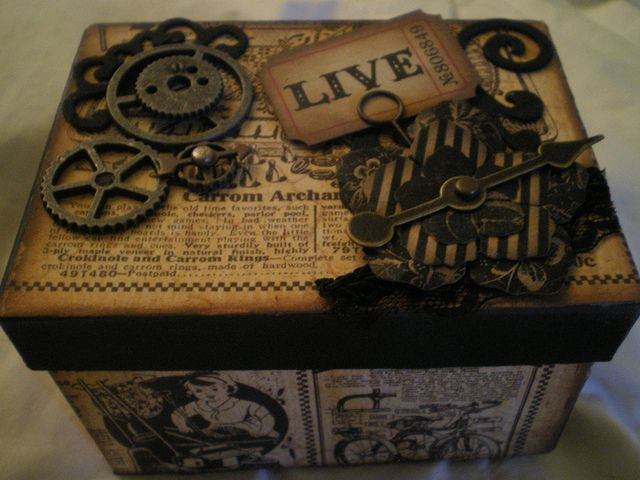 Altered Box Swap by Marla Rizzo.