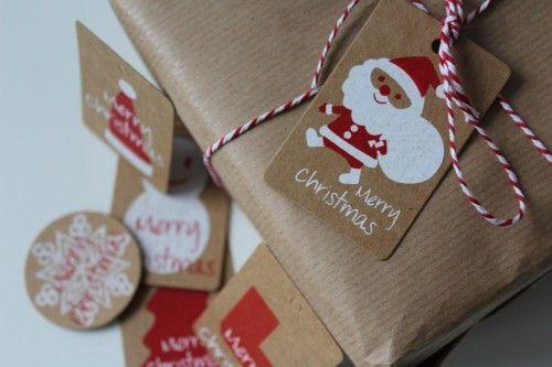 etykiety świąteczne