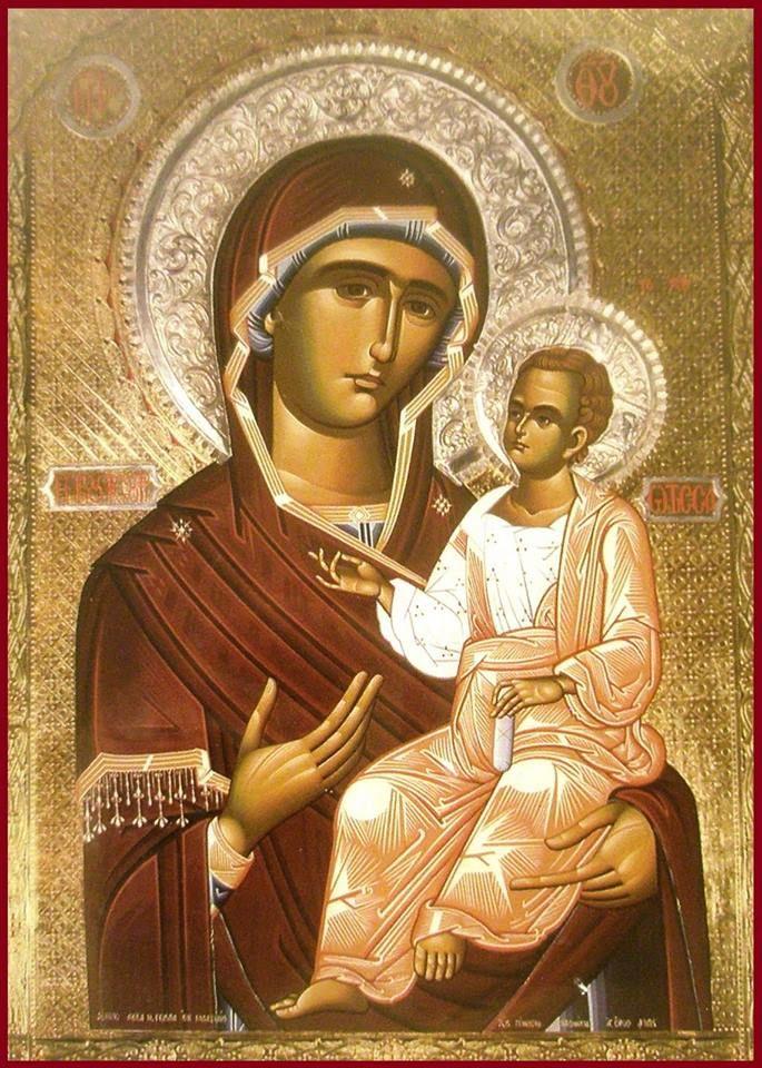 Icoana Maicii Domnului Koutsouriotissas-Mănăstirea Sfanta Maria Koutsouriotissas, Fokida-Grecia