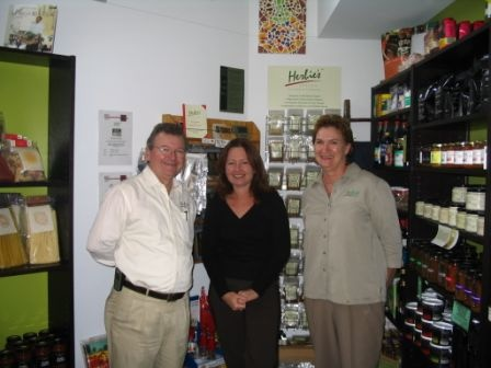 Ian and Liz Hemphill of Herbies Spices fame