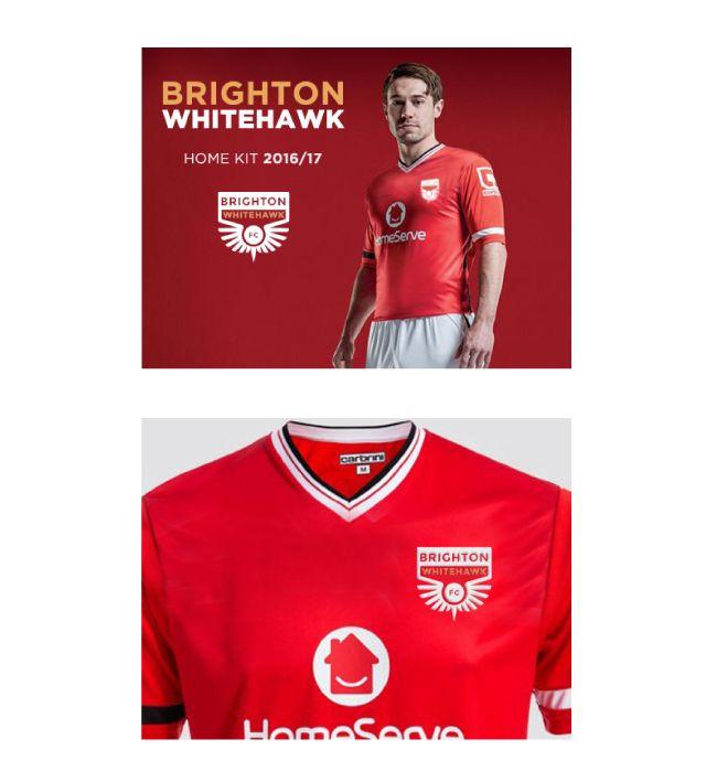 Brighton Whitehawk FC Rebrand