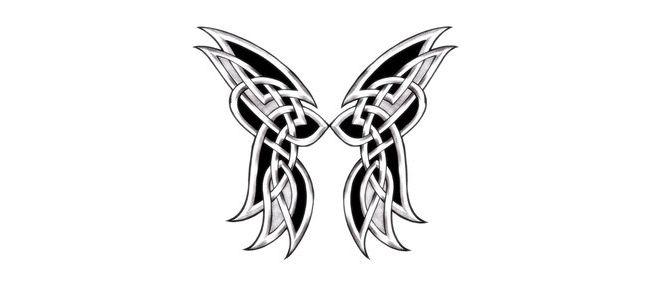 wings celtic cross tattoo designs small angel tattoos tattoo ideas pinterest butterfly. Black Bedroom Furniture Sets. Home Design Ideas