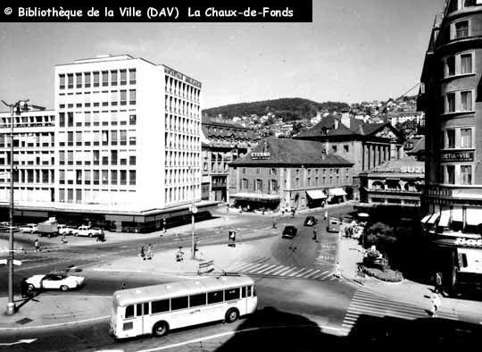 Place Numa-Droz, Neuchâtel (1960)