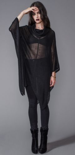 House of Widow - HIGH NECK GHOST SWEATER I need everything House of Widow has…