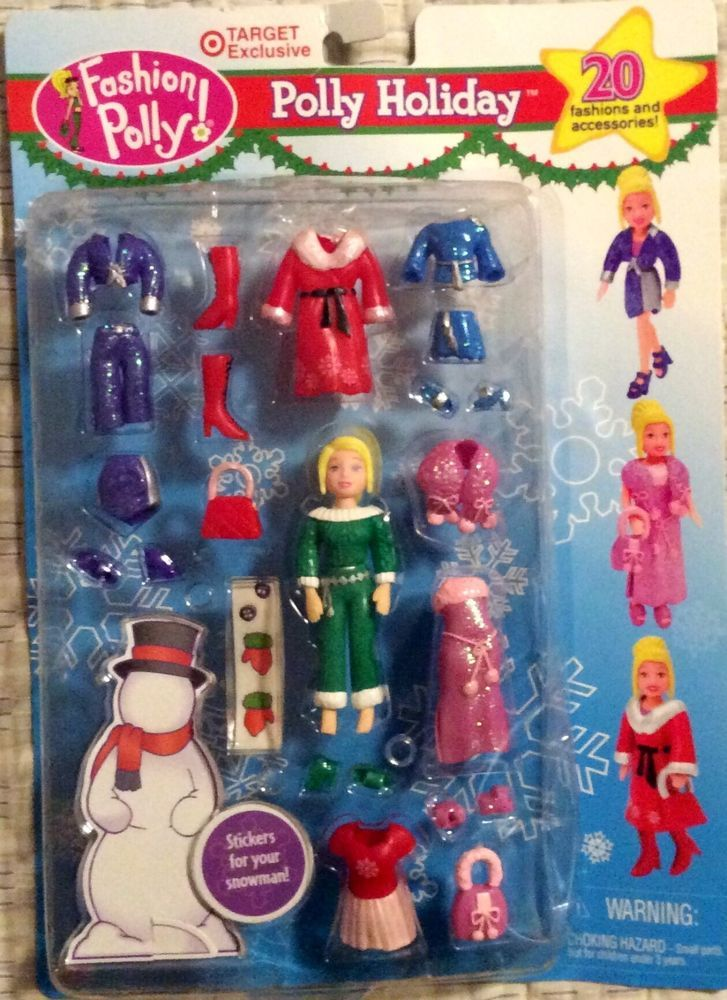 FASHION POLLY POCKET HOLIDAY CHRISTMAS DOLL 2002 TARGET ...