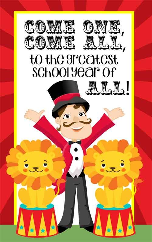 Image result for circus school theme