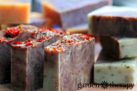 Orange Vanilla Cinnamon Cold Process handmade soap RECIPE with all natural ingredients