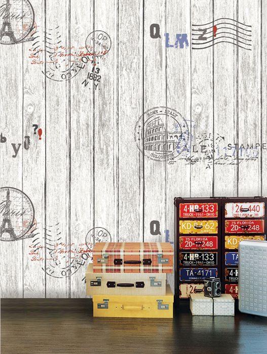 Корейские обои 87004-2 Natural Обои виниловые на бумажной основе 1,06*15,6 в интернет-магазине. Обои под дерево