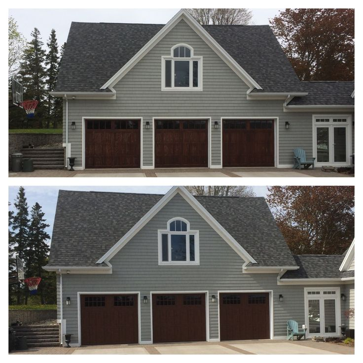 10 best before and after images on pinterest carriage for 10 x 7 garage door canada