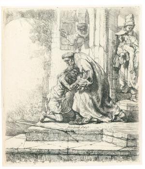 Parábola del hijo pródigo: El Regreso del Hijo Pródigo de Rembrandt