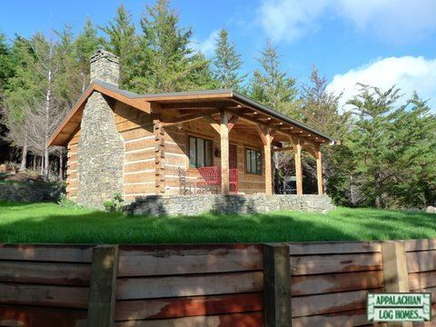 Appalachian log timber homes standard model rustic style for Appalachian house plans
