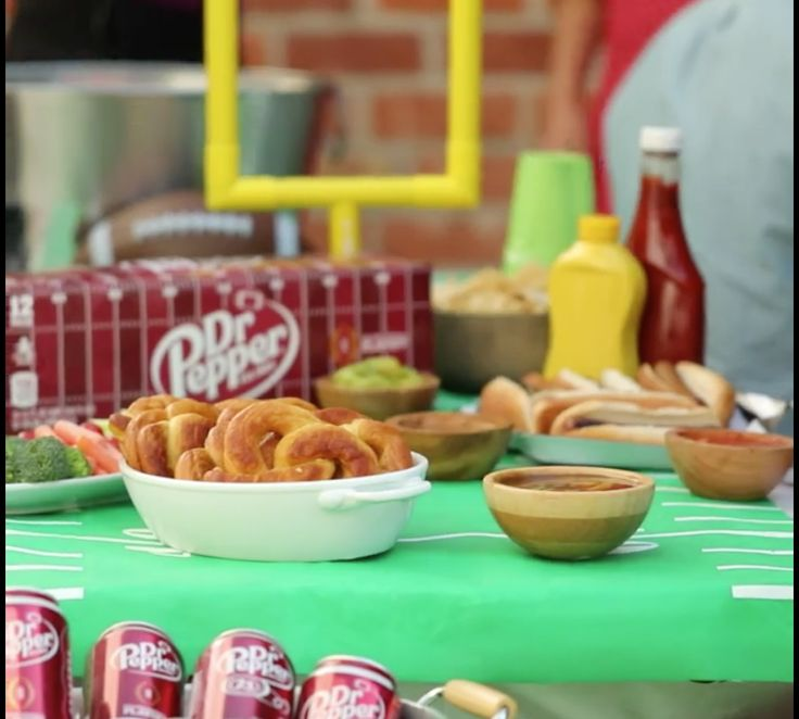Homemade pretzels with Dr Pepper dipping sauce will be a hit on any game day menu. In Partnership with Tasty.