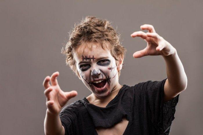 Disfraz casero de zombi para Halloween