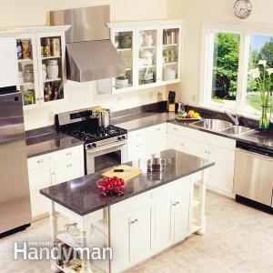 Frameless Kitchen Cabinets - Step by Step | The Family Handyman