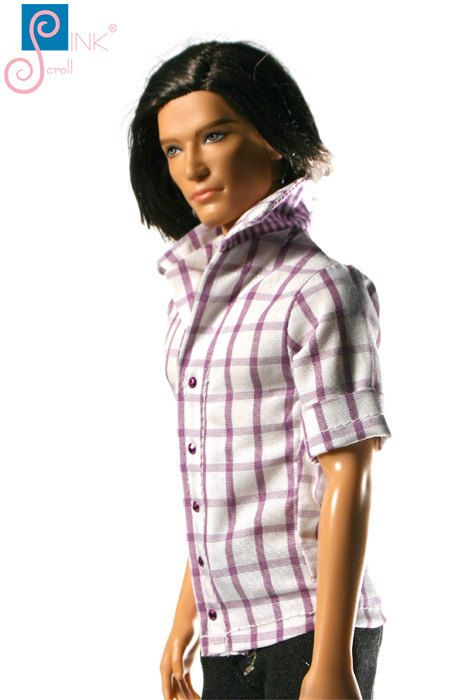 Ken clothes chemise: Cooper by Pinkscroll on Etsy