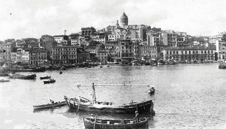 Haliç ve Galata / 1944