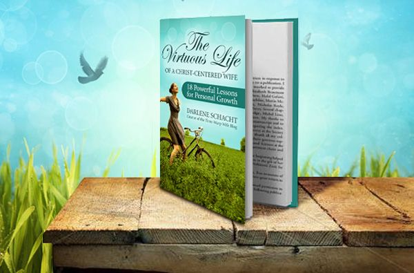 Check out The Virtuous Life of a Christ-Centered Wife: 18 Powerful Lessons for Personal Growth by Darlene Schacht:  http://timewarpwife.com/?p=1734