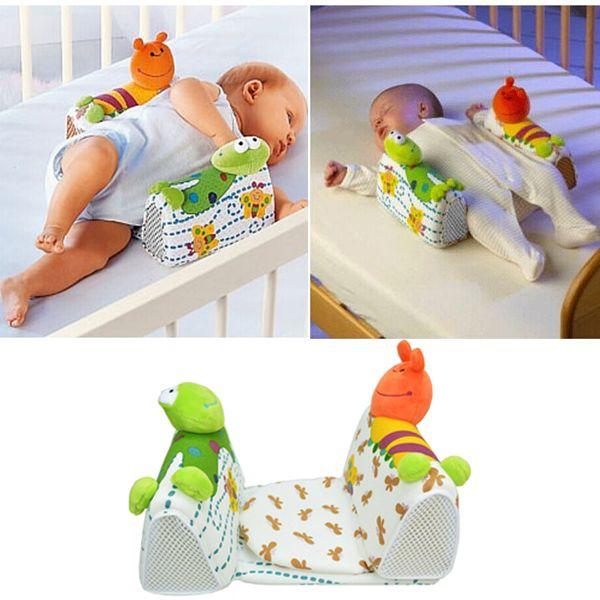 Infant Toddler Baby Sleep Positioner Anti Roll Nursing Pillow Bedding Adjust Sleeping Position