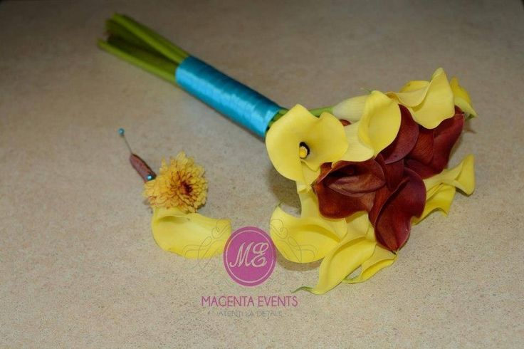 CallaLyllies #cale #yellow #fall #bridalbouqet  #boutonierre #butoniera