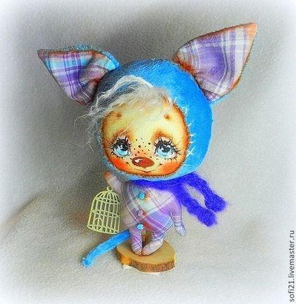 Коллекционные куклы ручной работы. Ярмарка Мастеров - ручная работа Базиль;). Handmade.