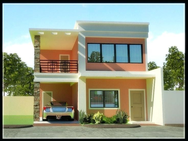 Tyuka Info 2 Storey House Design Philippines House Design Simple House Design