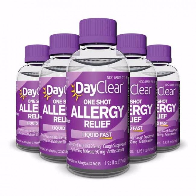 DayClear® Allergy Relief Tablets bring effective, long-lasting relief to your mild and severe allergy symptoms. This multi-symptom formula works fast to so