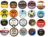 20 K Cup Variety Pack  Light and Medium Coffees Only  No Flavored Coffee K Cups  Large Selection of House and Breakfast Blends K Cup Blends special price #wine #deal