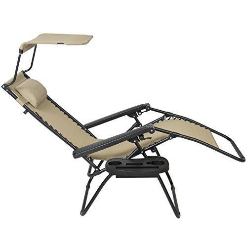 Outdoor Foldable Sun Lounger Deck Chair Garden Furniture