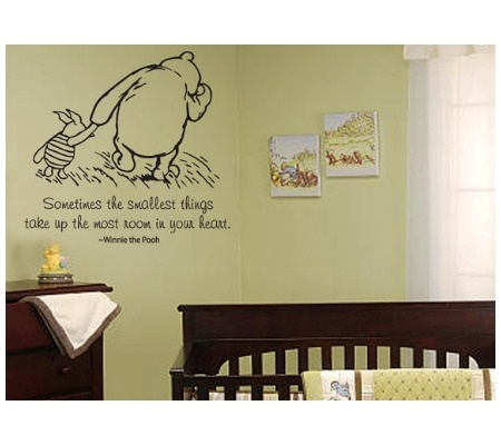 Best Winnie The Pooh Images On Pinterest - Baby nursery wall decals sayings