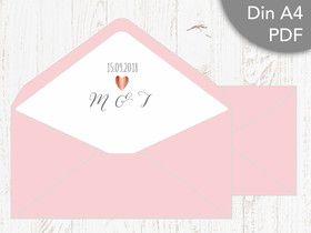 Diy Liner Inlet Briefumschlag Für Din Lang Umschlag Für