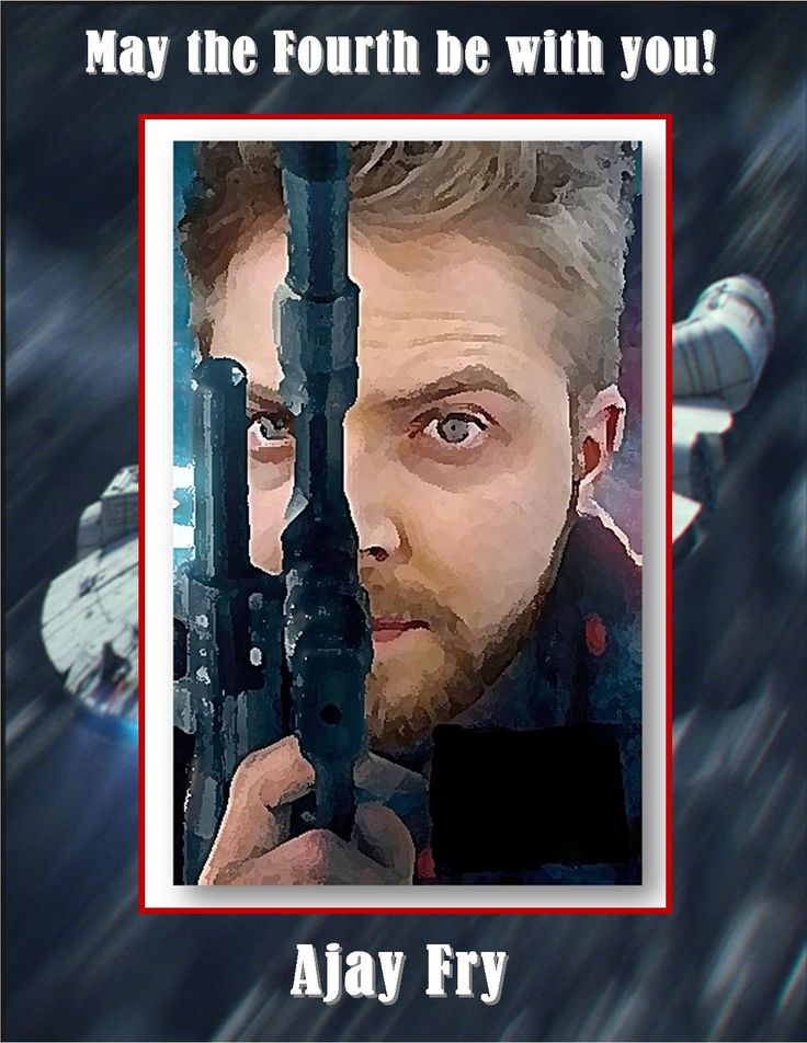 Ajay Fry as Hans Solo May the 4th, 2016